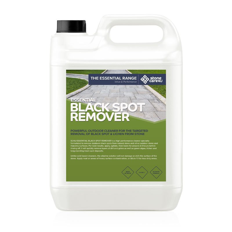 Essential Black Spot Remover Powerful Outdoor Cleaner